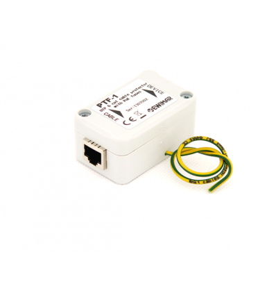 1-channel surge protector ECO series for IP with PoE