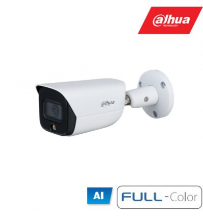 "IP kam.cilindr. 5MP FULL-COLOR STARLIGHT,1/2.7"" 2.8mm.98° F1.0, 20fps, LED 30m., WDR, IVS, IP67 ,MIC"