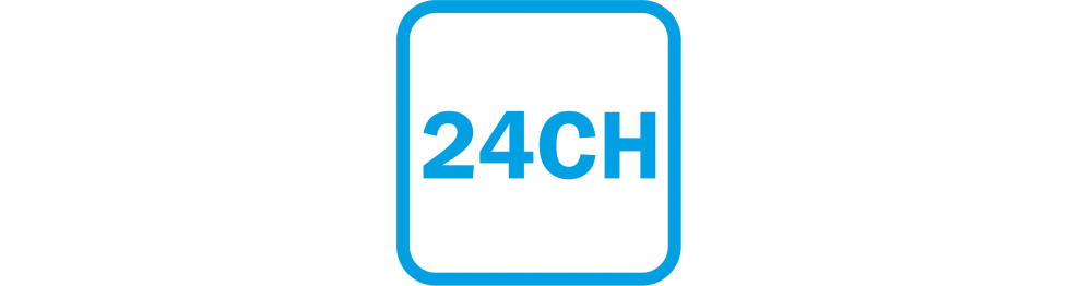 24 channel